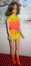 RARE SEARS EXCLUSIVE~1970 WALKING JAMIE DOLL~JAPAN~ORIGINAL OUTFIT~A++ Hair+Face