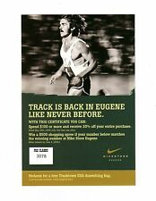 >STEVE PREFONTAINE 2006 Prefontaine Classic NIKE STORE EUGENE **Coupon-Card**