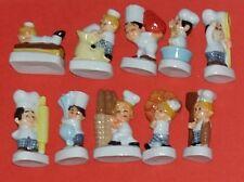 Série complète  fèves petits boulangers  r403
