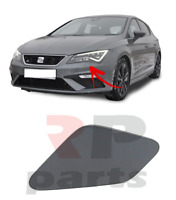 FOR SEAT LEON 5F 2012 - 2016 FRONT HEADLIGHT WASHER COVER CAP FOR PAINTING LEFT