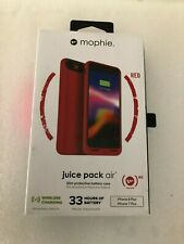 Mophie Juice Pack Air Phone Case for Iphone 7 & 8 Plus (RED)