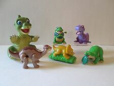 Land Before TIme 1988 Pizza Hut Ducky puppet 1997 Burger King Cera Spike Chomper