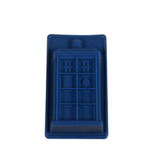 Doctor Dr Who Build Shaped Silicone Mold Cake Backing Tool Ice Cube Tray