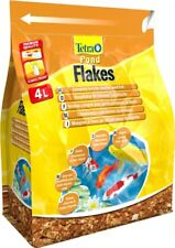 Tetra Pond Fish Flake 4L / 800g - Complete Food For Young & Small Pond fish