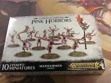 40K Warhammer AOS Pink Horrors Daemons of Tzeentch NIB Sealed