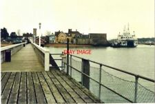 PHOTO  ISLE OF WIGHT YARMOUTH FROM THE PIER IN 1988 WITH THE TOWER OF ST JAMES C