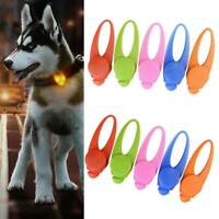 New Pet Dog Cat Puppy LED Flashing Light Collar Pendant Night Safety Lamps