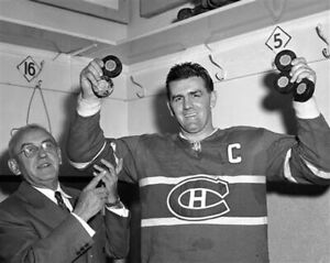 Maurice Rocket Richard Montreal Canadiens 8x10 Photo