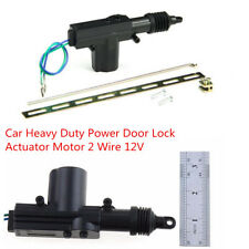 DC 12V Car Heavy Duty Central Locking Power Door Lock Actuator Motor 2 Wire Kit