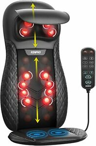 Full Body Massage Chair Deep Tissue Massager w Heat & Remote Relieves Pain Relax