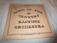 PROFESSOR DAVID E. BOURNE-DAWN OF THE CENTURY RAGTIME ORCHESTRA NEW SEALED LP