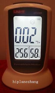 Handheld Formaldehyde Monitor Detector Temperature Humidity Meter Tester 3in1