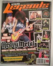 GUNS N ROSES REVOLVER LEGENDS Magazine HISTORY OF HEAVY METAL Axl Rose SLASH
