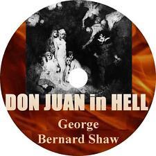 Don Juan in Hell, George Bernard Shaw Audiobook Fiction English 2 Audio CDs