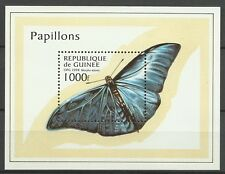 GUINEE GUINEA PAPILLONS MORPHO ADONIS BUTTERFLIES INSECTES SCHMETTERLINGE **1998