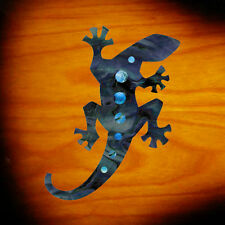 Lizard (Black Pearl) Inlay Stickers Decal Headstock Pickguard Guitar Ukulele