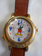 MUSICAL  HAPPY B-DAY LORUS  MICKEY MOUSE  WATCH/ NEW BATTERY