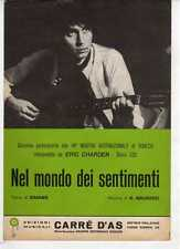 Sc3 SPARTITO NEL MONDO DEI SENTIMENTI Eric Charden - Canto-Mandolino-Fisa 1971