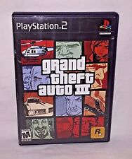 Grand Theft Auto III PlayStation 2 Game! Free Shipping!
