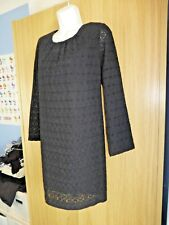 French Connection, Women's, black, mini dress. Size 10. Long sleeve.