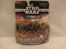 Star Wars- Unleashed -  Battle of Kashyyyk Wookiee's  NOC (716DJ30/43 ) 85890
