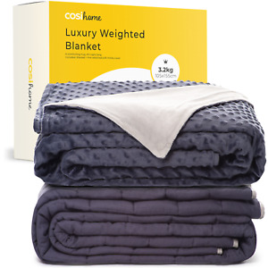 Cosi Home® Luxury Weighted Blanket Suitable for Kids & Children 3.2kg Ultrasoft
