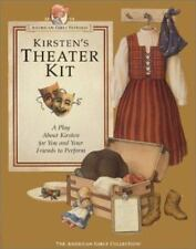 American Girl: Kirsten's Theater Kit - Vintage American Girls Pastimes - NEW
