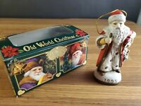 Merck Family's Old World Christmas Ornament G Santa Claus 1895 5 inches tall