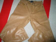 New With Tags Men's Gap Leather Pants Tan in Color Men or Women W29 L30