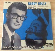 "RARE FRENCH EP BUDDY HOLLY ""DANSONS GAIEMENT...."" VOL 23"