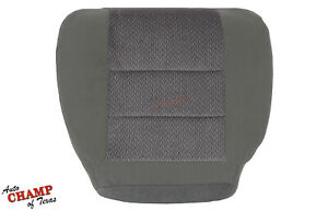 2002 2003 Ford F350 XLT Super-Cab X-Cab-Driver Side Bottom Cloth Seat Cover Gray