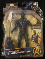 "Marvel Black Panther 6"" inch Action Figure with Vibranium Gear NEW"
