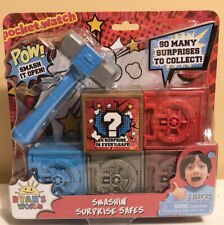 NEW Ryan's World SMASHIN' SURPRISE SAFES Hammer Smashing Surprise Mystery Toy