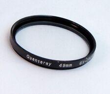 Quantaray 49mm Multi-Coated UV Protector