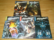 Freedom Formula #1-5 VF/NM complete series - illegal street racers 2 3 4 radical