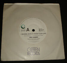 ERIC CARMEN 45 - I WANNA HEAR IT FROM YOUR LIPS 1980s POP