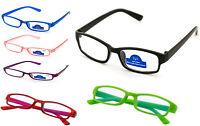 Reading Glasses 0.0 to 4.00 Unisex Mens Ladies Designer Fashion Slim Anti Glare