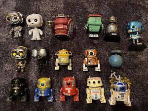 Star Wars droids Funko Pops Bundle Exclusive Rare