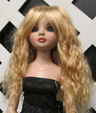 "Doll Wig, Monique Gold ""Snow"" Size 5/6 in Medium Reddish Blonde"