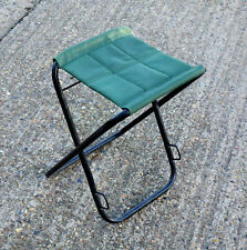 Vintage Portable Camping Folding Chair Outdoor BBQ Stool Beach Fishing Seat