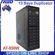 AT-850W 13 bay Duplicator with ACARD DVD CD 1 to 11 SATA Controller + DVD RW