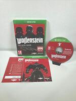 Wolfenstein The New Order Xbox One Game FREE POSTAGE
