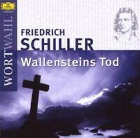 DÜSSELDORFER SCHAUSPIELHAUS - SCHILLER-WALLENSTEINS TOD  2 CD  HÖRBUCH  NEU