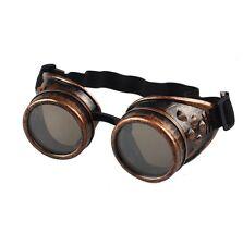 Steampunk BRILLE - kupfer, Schweißerbrille, Fliegerbrille, Gothic Vintage