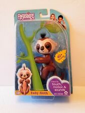 Fingerlings Interactive Baby Sloth Kingsley BRAND NEW by WowWee