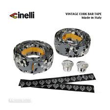 NOS VINTAGE Cinelli CORK Handlebar Tape MICROSPLASH GREY - Made in Italy!
