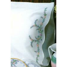 DESIGN WORKS Premium Pillow Cases 2pk for Stamped Embroidery REFLECTIONS Floral