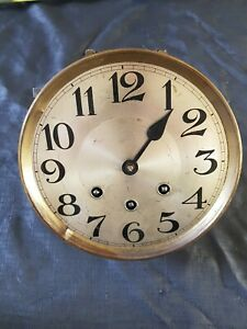 Antique Vienne Style 3 Train Westminster Wall Clock Movement  18cm Dia untested
