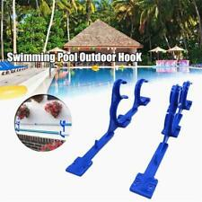 Leaf Rakes Plastic Holder Skimmers Pool Pole Hanger Tools Garden Vacuum E1A9