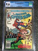 AMAZING SPIDER-MAN #221 CGC 9.6 WHITE PAGES NEWSSTAND